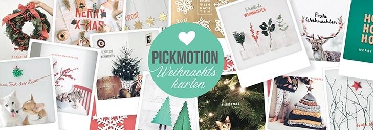 Pickmotion Weihnachtskarten
