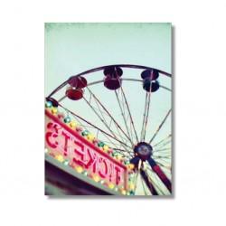 "Alicia Bock Karte ""Big Wheel"""