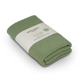 "Aspegren Handtuch ""Organic Cotton"" Solid Alo Green"