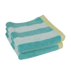 Handtuch STRIPES Aqua