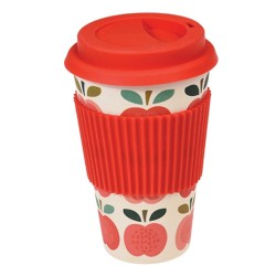 Bamboo To-go Becher Vintage Apple