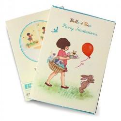 Belle and Boo Einladungskarten Set