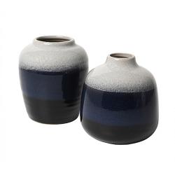 "Vasen Set ""Shade"" Blue"