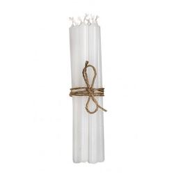 Broste Kerzen Set Weiß