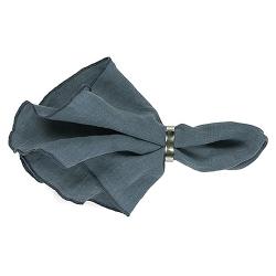 Leinen Serviette GRACIE Blau