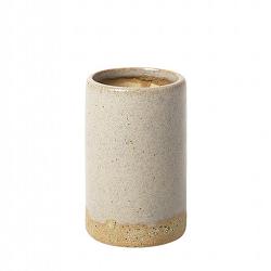 "Vase ""Slim"" Simply Taupe 10cm"