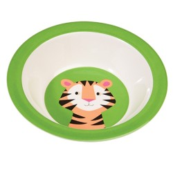 Bunte TIERFREUNDE Melamin Schüssel Tiger