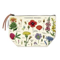 """Cavallini Kulturtasche """"Wildblumen"""""""
