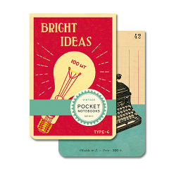 Pocket Notebook Set Bright Ideas