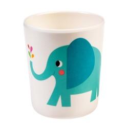 Elvis der Elefant Melamin Becher