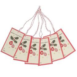 Geschenkanhänger Set MERRY CHRISTMAS