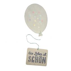 Ballonpost DAS LEBEN IST SCHÖN