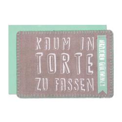"""Stoffpost """"Kaum in Torte zu fassen"""""""