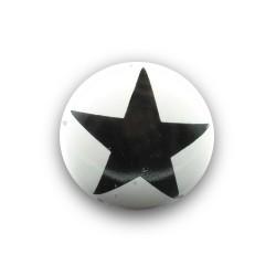 Griff mit Stern Schwarz