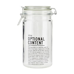 Aufbewahrungsglas OPTIONAL CONTENT 900ml