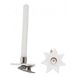 Kerzenhalter Clip Set