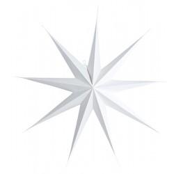 9 Point Papierstern Weiß Ø 87cm