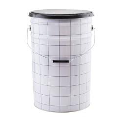 hocker mit aufbewahrung the bucket grid shabby. Black Bedroom Furniture Sets. Home Design Ideas