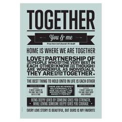 """Poster """"Together"""""""