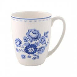 Blue Rose Becher