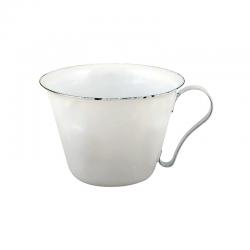 Emaille Mini Dekobecher Weiß