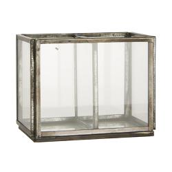 Altum Glasbox mit 2 Fächern