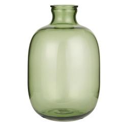 Glasballon Vase