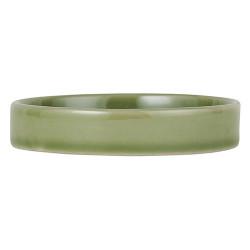 Keramik Kerzenuntersetzer Grün
