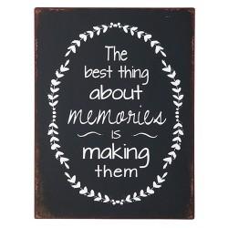 """Schild """"Memories"""""""