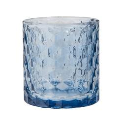 """Vase und Teelicht """"Vendela"""" Blau"""