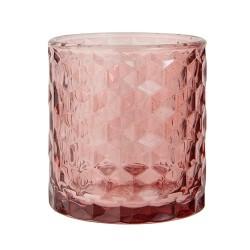 """Vase und Teelicht """"Vendela"""" Malva"""
