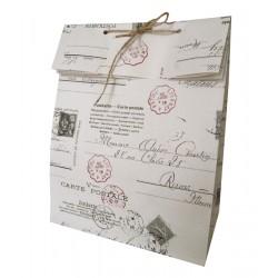 Geschenktütchen Carte Postale groß