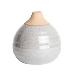 """Vase """"Finn"""" Grau"""