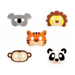Tiermasken Jungle Party