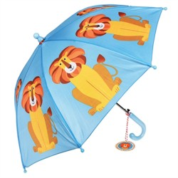 Kinder Regenschirm Bunte Tierfreunde Löwe