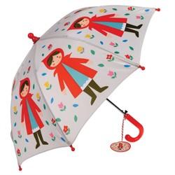 Kinder Regenschirm Rotkäppchen