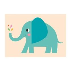Klappkarte ELVIS der Elefant