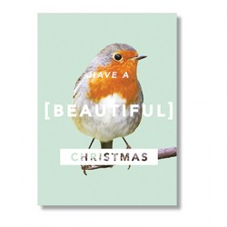 Klappkarte Have a beautiful Christmas