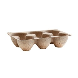 Egg Tray 4er Set Natur