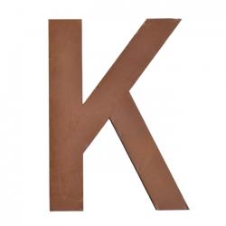 Metallbuchstabe K