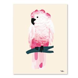 Michelle Carlslund Bild Cockatoo Pink