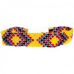 Armband Navajo Gelb