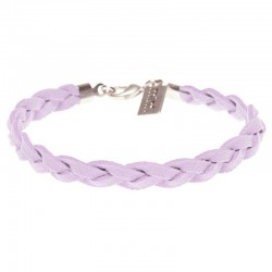 Armband Wildleder Lilac