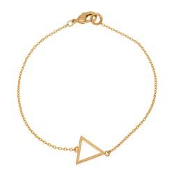 """Armkettchen """"Triangle"""" Gold"""