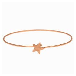 Armreif STAR Rosé Gold