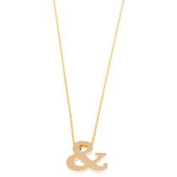 """Halskette """"&"""" Gold"""