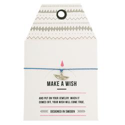 "Armband ""Make a wish"" Origami Boat"