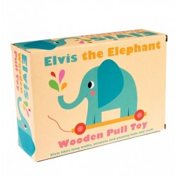 Nachziehtier Elvis der Elefant