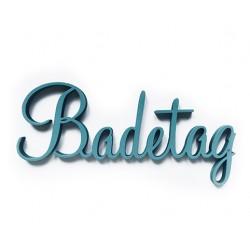 """3D Schrift """"Badetag"""""""
