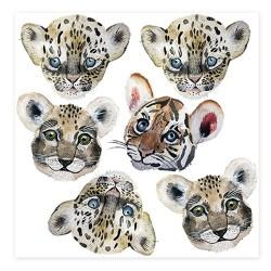 """Nuukk Porzellan Sticker Set """"Tiny Roar"""""""
